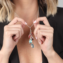 Load image into Gallery viewer, RAIN BIRTHSTONE NECKLACE