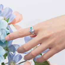 Load image into Gallery viewer, CUSTOM RING WITH 3 BIRTHSTONES
