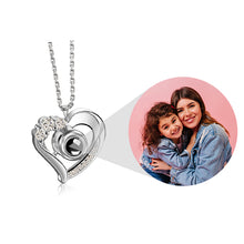 Load image into Gallery viewer, HEART PROJECTION NECKLACE