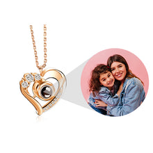 Load image into Gallery viewer, PROJECTION HEART NECKLACE