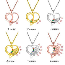 Load image into Gallery viewer, MOM'S HEART NECKLACE