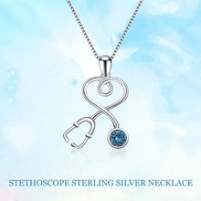 Load image into Gallery viewer, STETHOSCOPE NECKLACE CHAIN