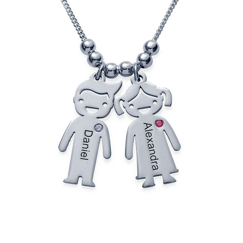 KIDS CHARMS MOM NECKLACE