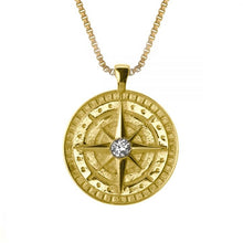 Load image into Gallery viewer, COMPASS WOMEN'S NAME NECKLACE