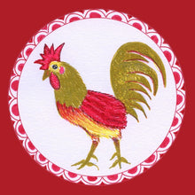 Load image into Gallery viewer, Coaster - Chinese Zodiac - Roosters - Set of Four