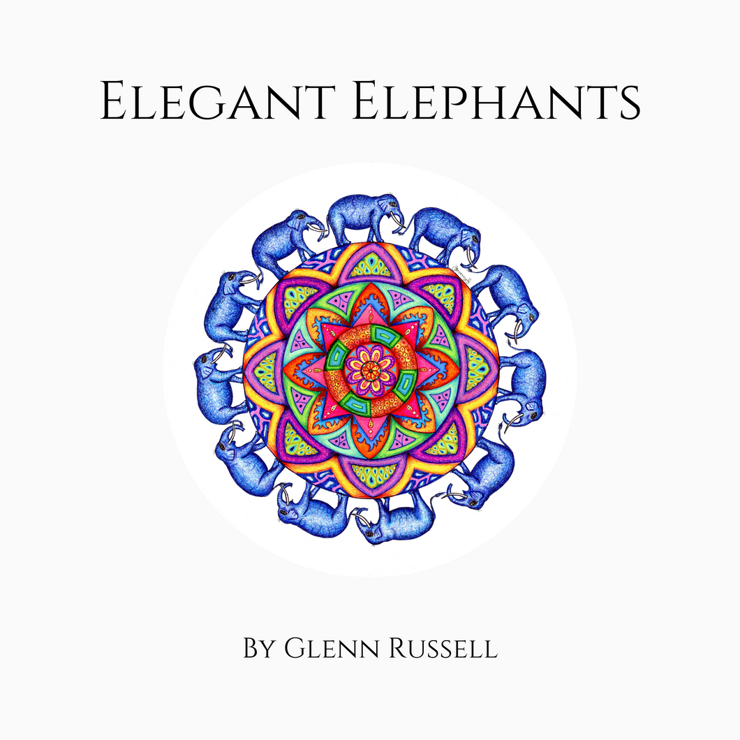 Book - Elegant Elephants