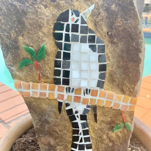 Mosaic - Willie Wagtail