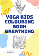 Load image into Gallery viewer, Colouring Book - Yoga Kids - Breathing