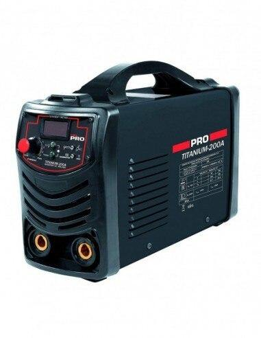 DIGITAL INVERTER welding 200 A. 60% - TIG - Soldador.de