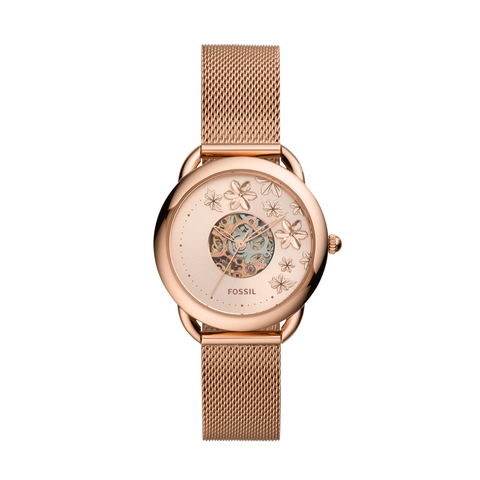 Fossil Tailor 3 Hands Automatic Women Watch