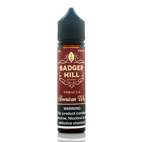 American Way - Badger Hill Reserve 60 ml