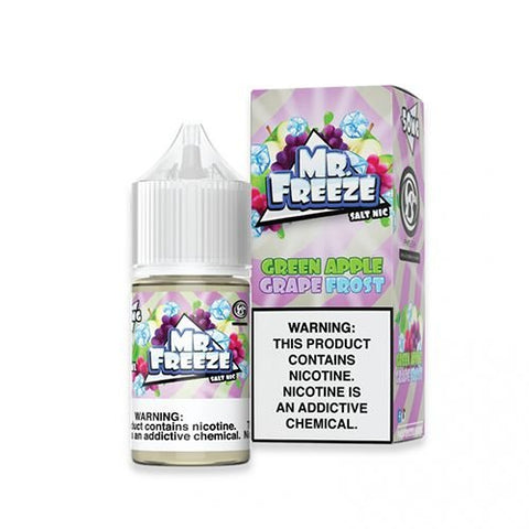 Green Apple Grape Frost - Mr. Freeze Saltnic