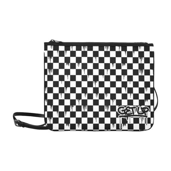 Checker Drip Clutch