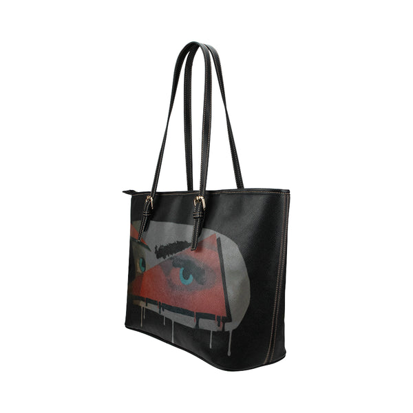 Face Leather Tote