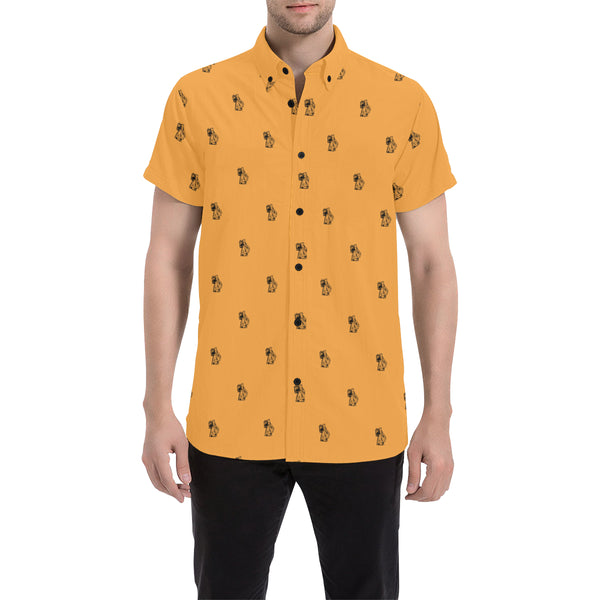 Ben Orange Short Sleeve Shirt