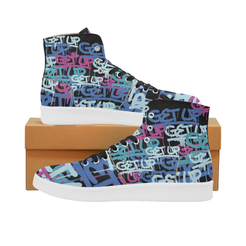 Color Tags Hi Top Sneaker