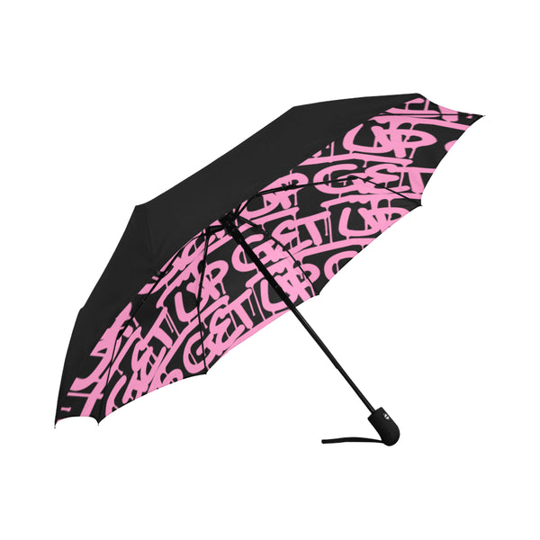Pink Tags Anti-UV Auto-Foldable Umbrella