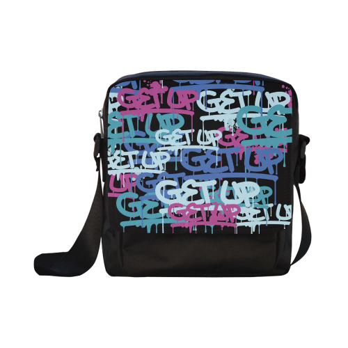Color Tags Crossbody Bag