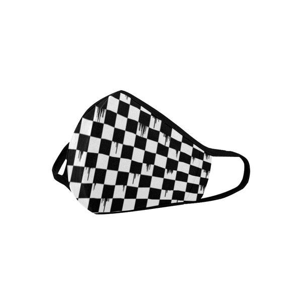 Checker Drip Mask