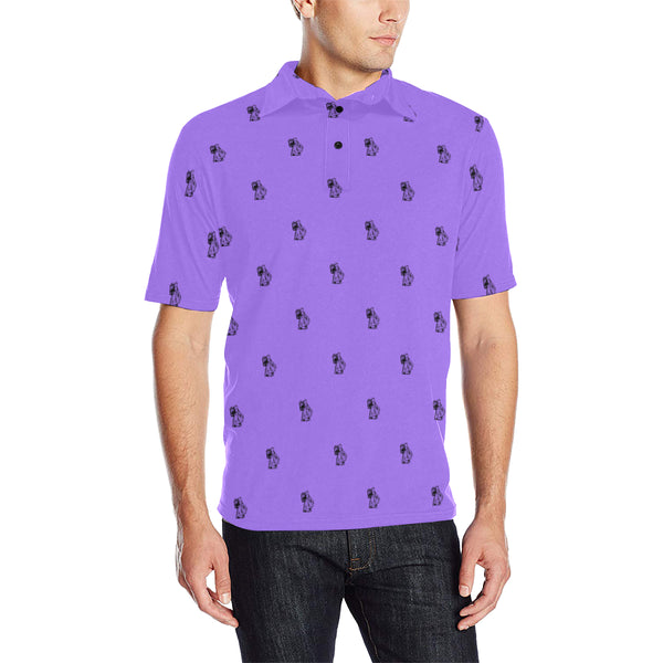 BenJammin Purple Polo Shirt