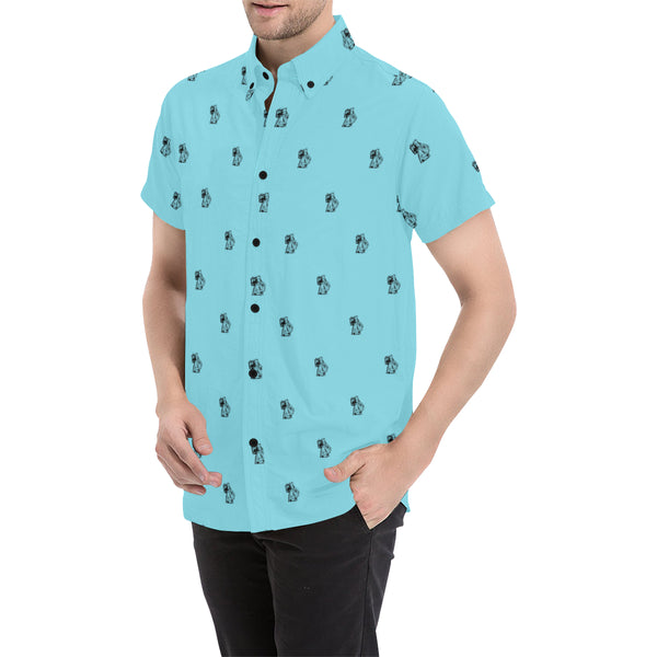 BenJammin Blue Short Sleeve Shirt