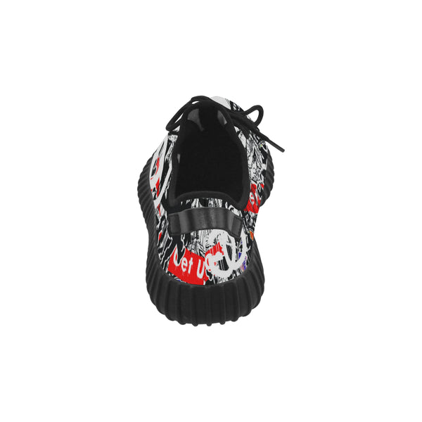 Sticker Print Men's Sneakers