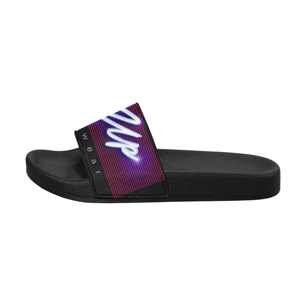 Retro Logo Slide Sandals