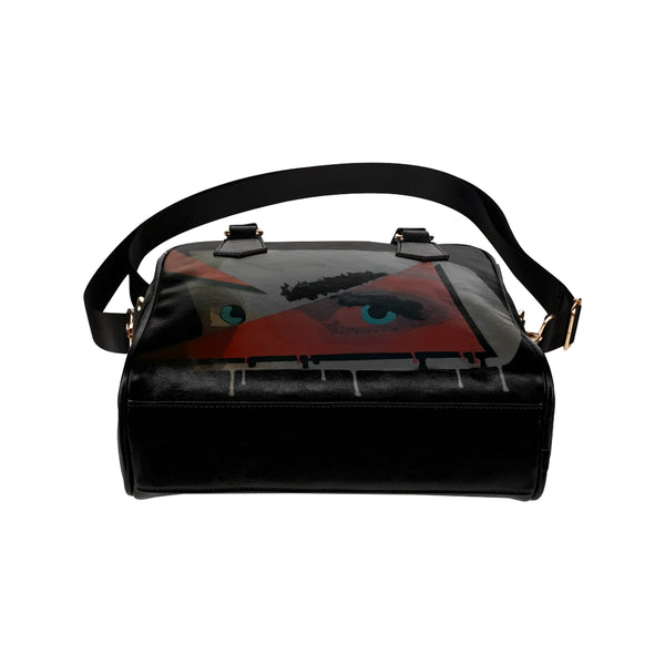 Face Shoulder Handbag