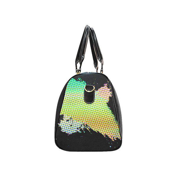 Abstract Large Travel Bag