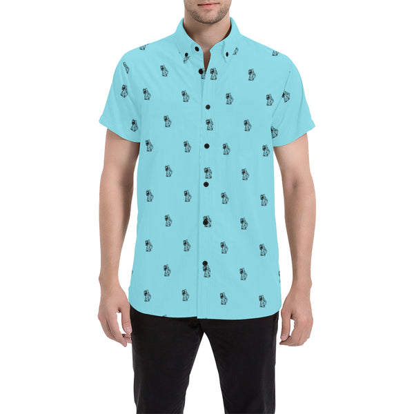 Ben Blue Short Sleeve Shirt