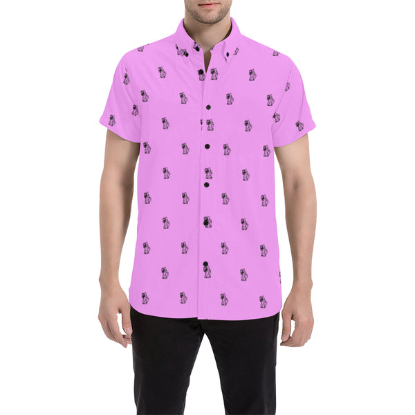 Ben Pink Short Sleeve Shirt