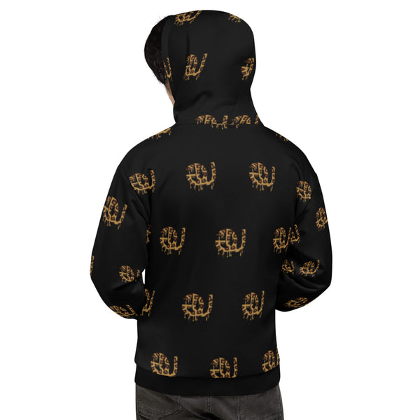 GU Animal Print Unisex Hooded Sweatshirt