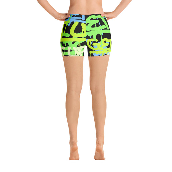 Tags Green Yoga Shorts