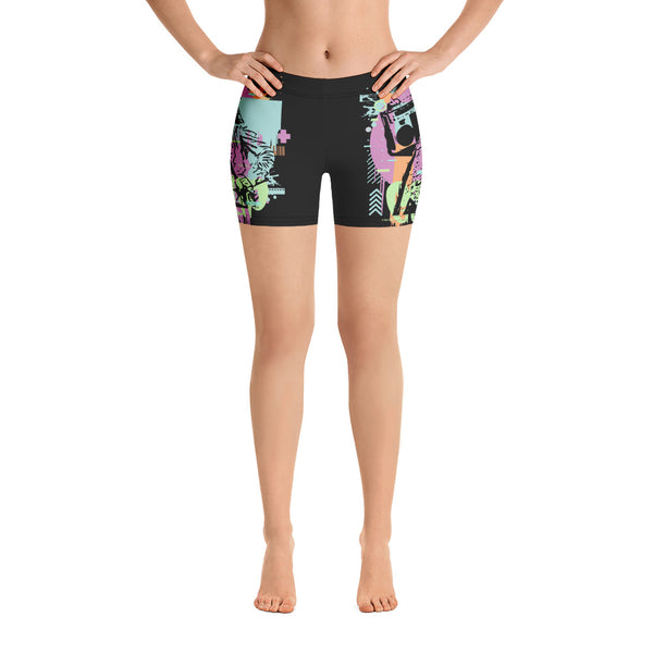 BenJammin Abstract Yoga Shorts