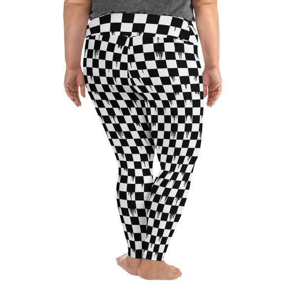 Checker Curvy Legging