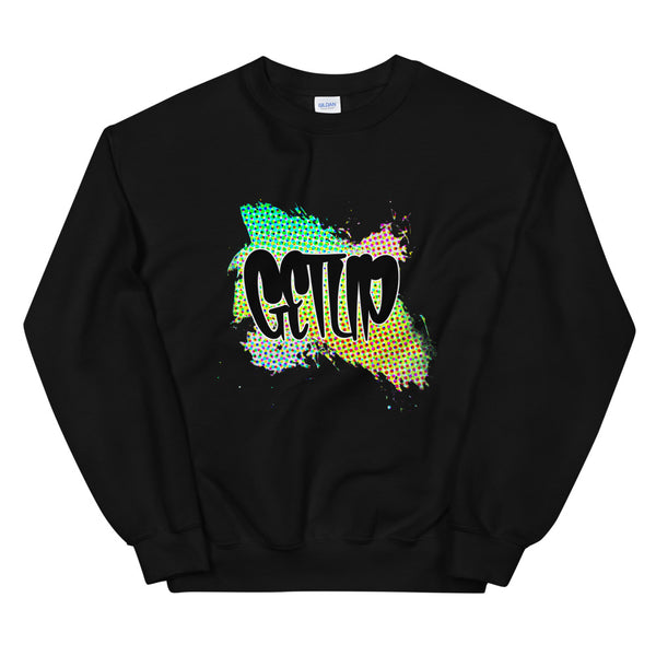 Tag Abstract Unisex Sweatshirt