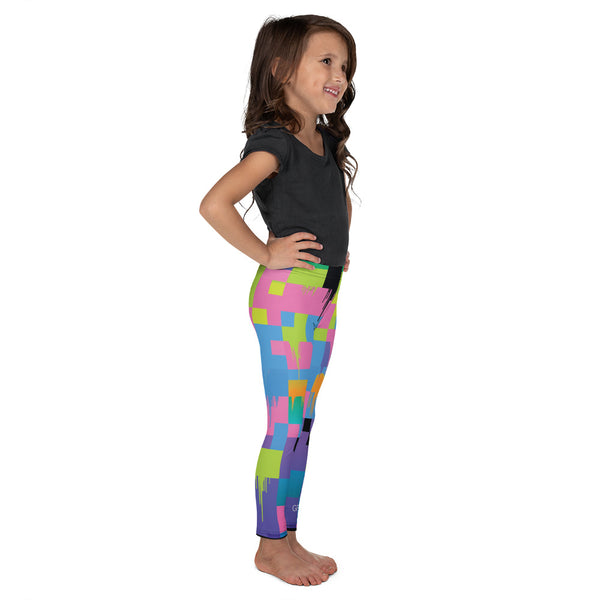 Color Glitch 2 Kid's Legging