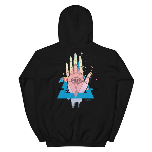 Hand Unisex Hooded Sweatshirt