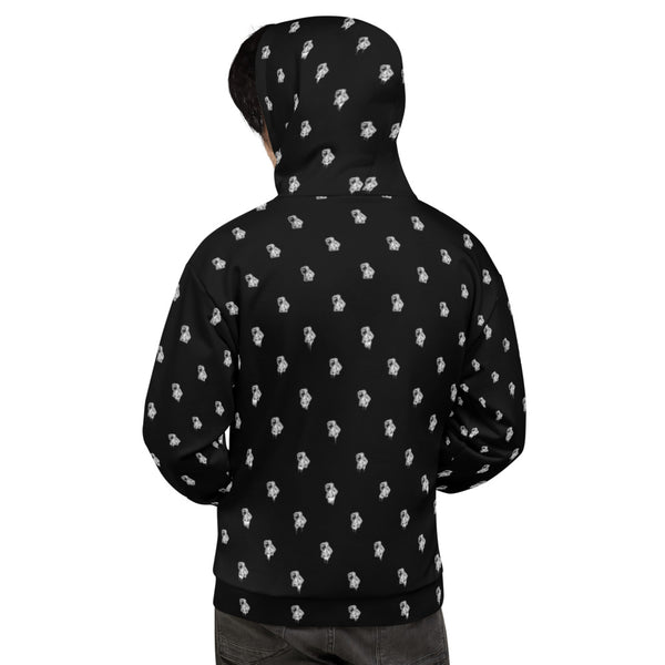 Ben Print Unisex Hooded Sweatshirt