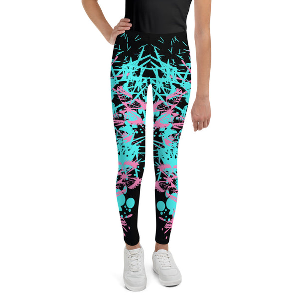 Butterfly Splatter Youth Legging