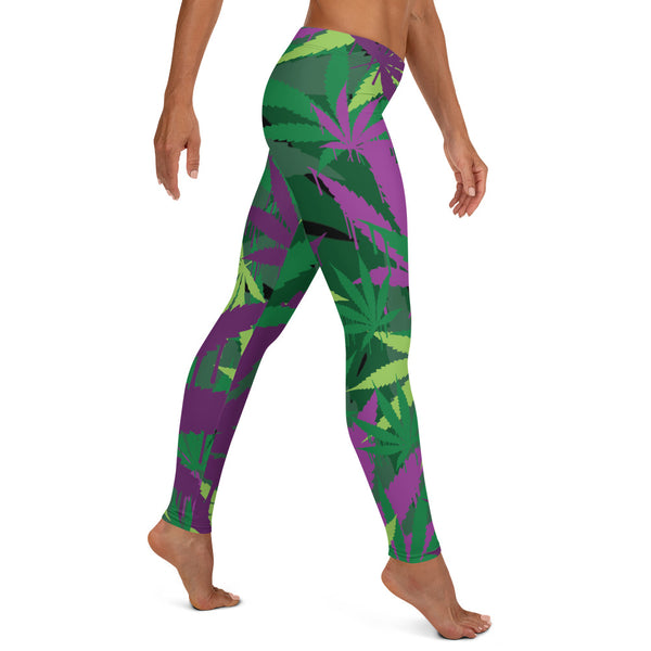 Green Leaf Legging