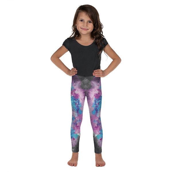 Grunge Watercolor Kid's Legging