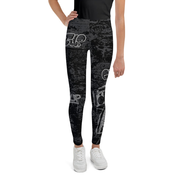 Grunge Tags Youth Legging