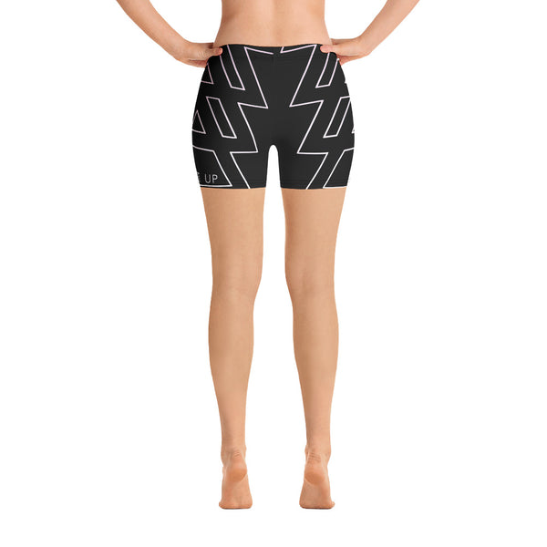 Triangle Fade Yoga Shorts