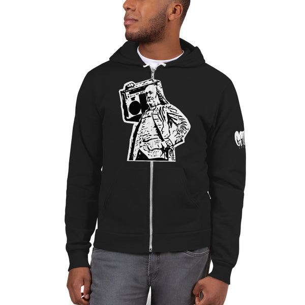 BenJammin Zip-Up Hooded Sweatshirt