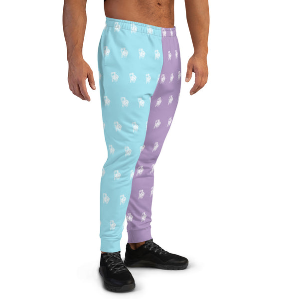 BenJammin Print Colorblock Men's Joggers