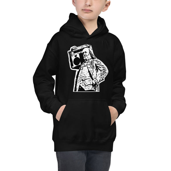 Kids Benjammin' Hooded Sweatshirt Unisex