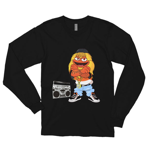90's Gritty Long sleeve T-shirt