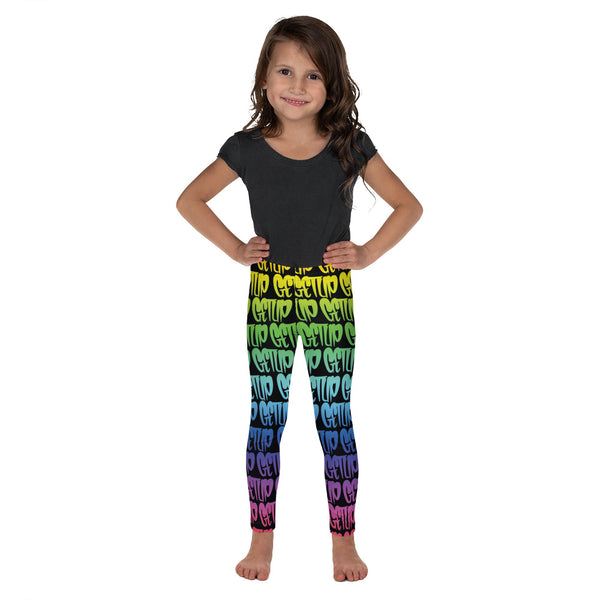 Rainbow Tags Kids Legging