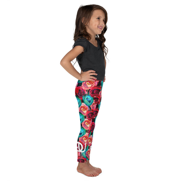 Rose Drip Kid's Legging